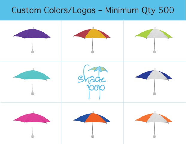 Custom Order A Shadepop Tabletop Umbrella